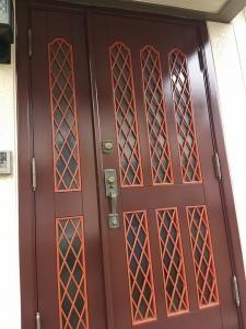 久保様ドア完成反転2