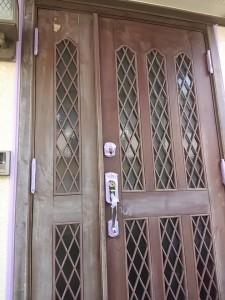 久保様ドア反転1